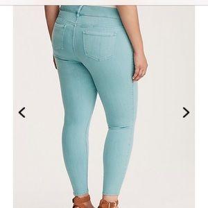 d8a28781549 torrid Jeans - Torrid Size 18 regular pool blue Jeggings